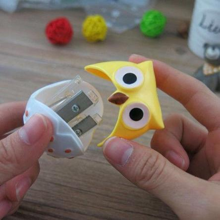 Owl Pencil Sharpeners - 2 pcs - essential.merch
