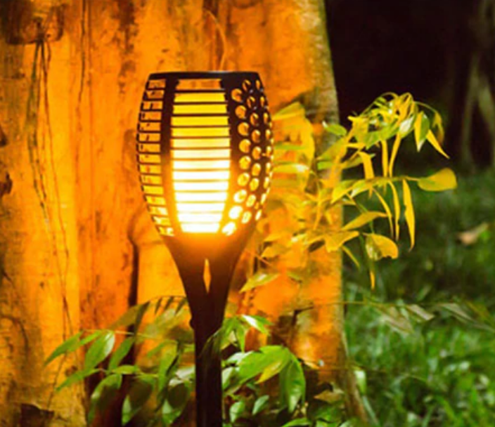 Kahana Tiki Torches: Realistic Flameless LED Lamps - essential.merch