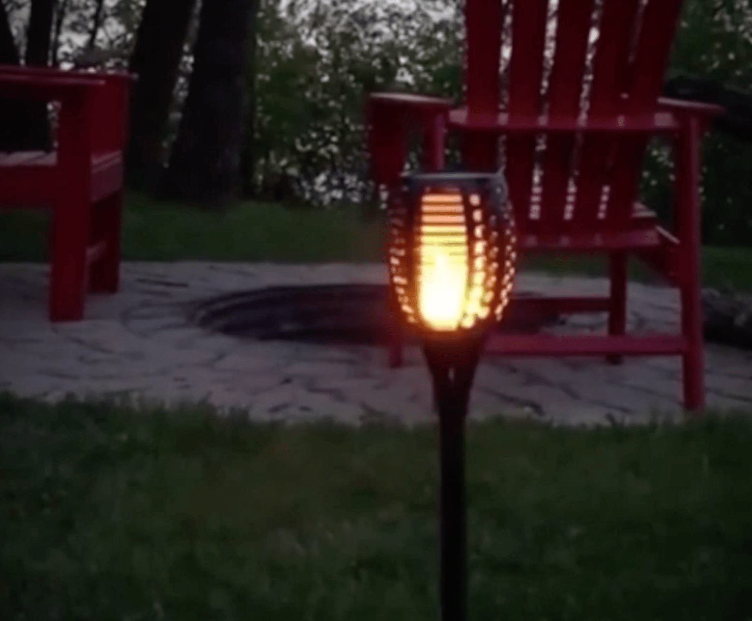 Wix Lamp: Solar Powered Tiki Torches - essential.merch