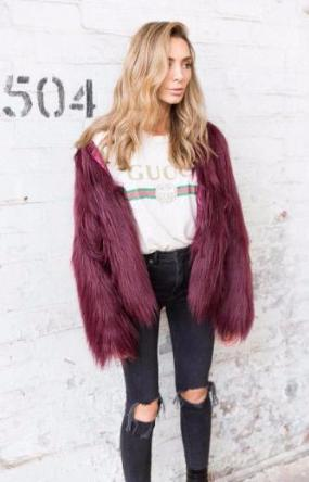 Bombshell Faux Fur Coat - essential.merch