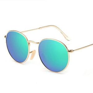 Lennon Oversized Round Polarized Sunglasses UV 400 - essential.merch