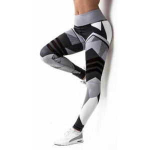 Ladies 3D Print Seamless Leggings - essential.merch
