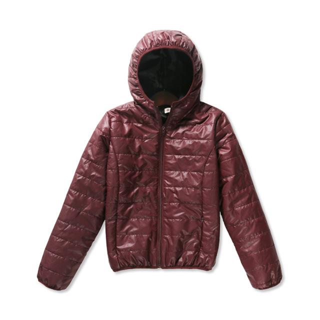 Ladies Packable Hooded Jacket - essential.merch