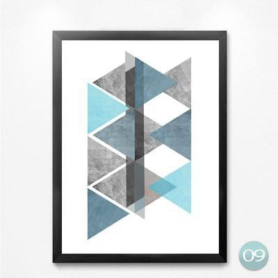 Unframed Canvas: Geometric - essential.merch