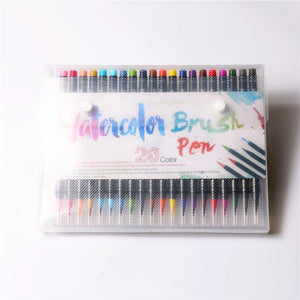 Watercolor Brush Pens X 20 - essential.merch