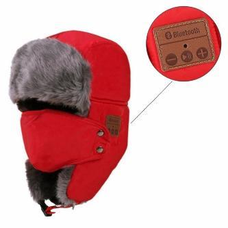 Bluetooth Trapper Hat - Handsfree Listening & Talking - essential.merch