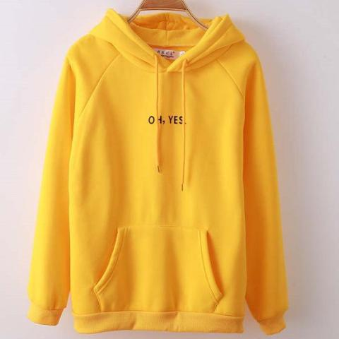 OH YES Hoodie - essential.merch