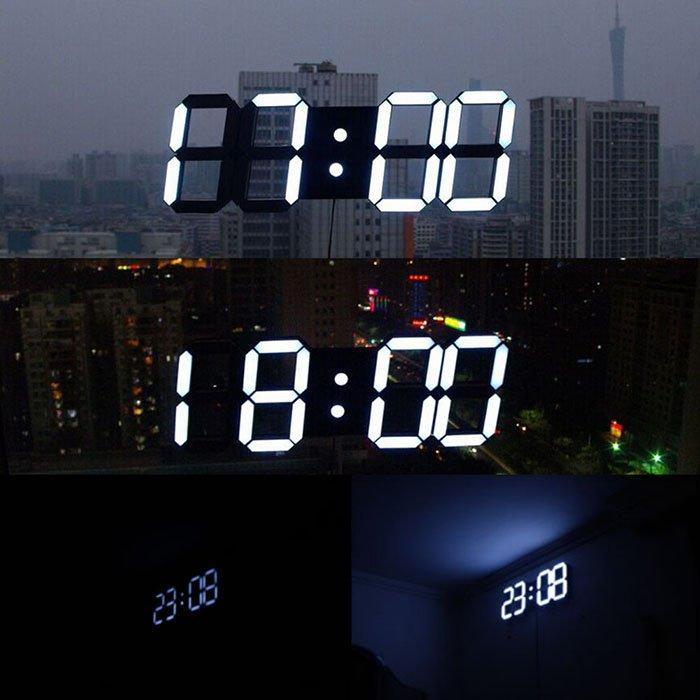 Modern Digital LED Wall Clock - essential.merch