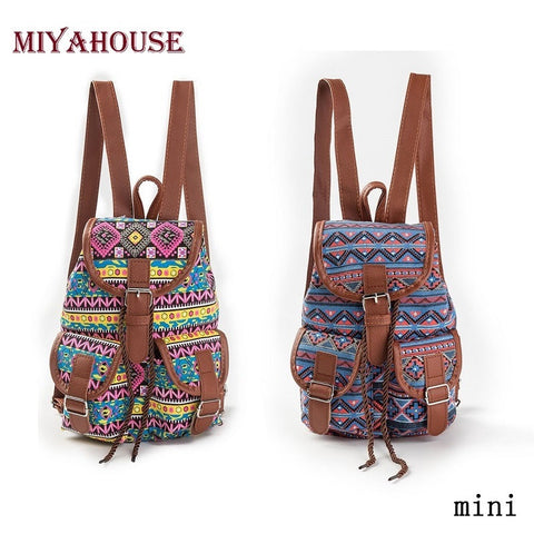 Fashion Girls Printing BackpacK