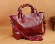Aggey Genuine Leather Handbag