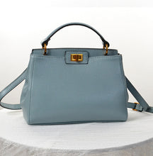 Leyla Classic Genuine Leather Handbag
