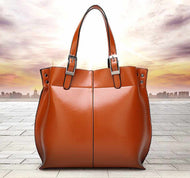 Hazel Vintage Leather Handbag