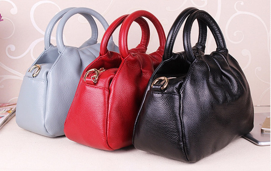 Nikki Genuine Leather Tote