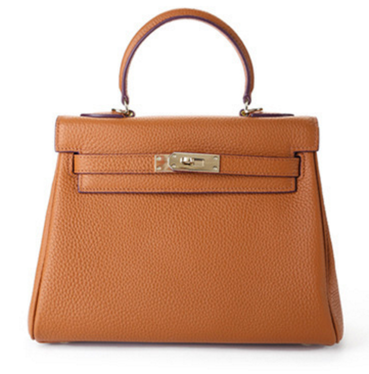Kelly Genuine Leather Key Tote