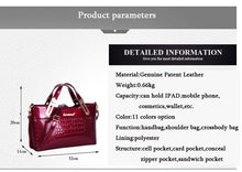 Patricia Patent Leather Handbag