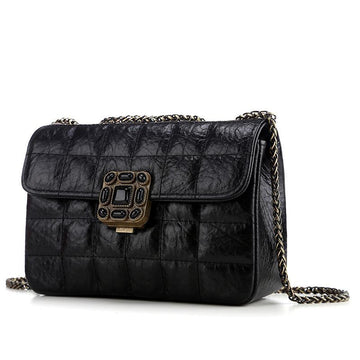 Alice Quilted Leather Crossbody