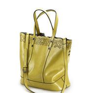 Delilah Leather Tote