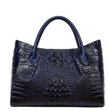 Clarisa Alligator Tote
