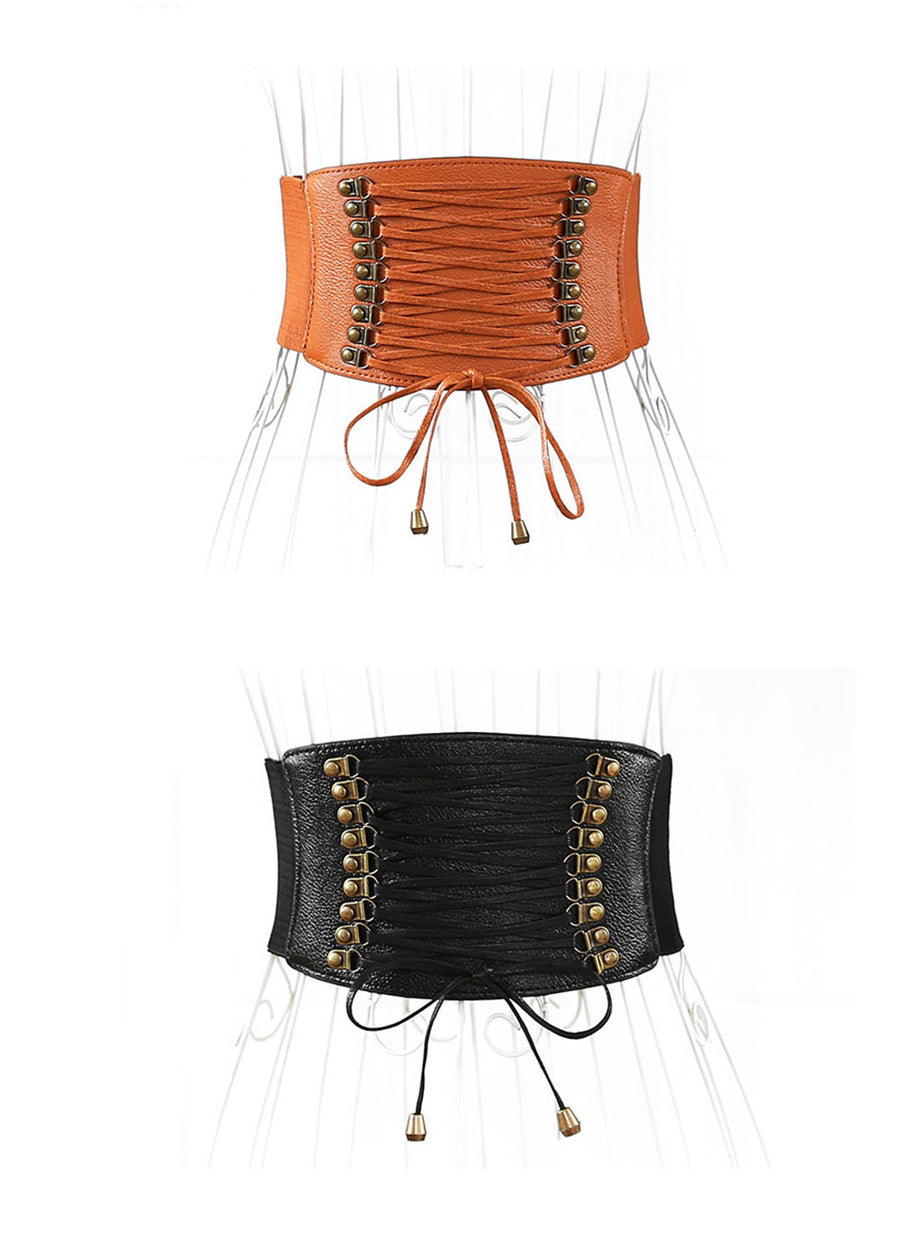 Tassel Wide Designer Belts