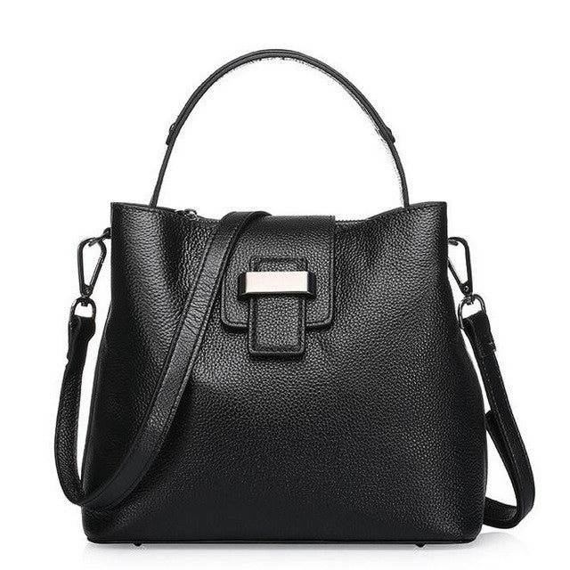 AnnaBelle Pebbled Leather Crossbody
