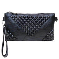 Stella Riveted Wristlet