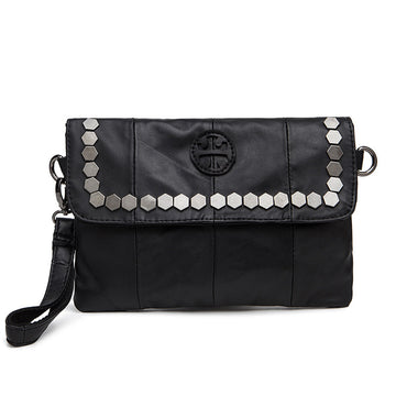 Raelynn Leather Wristlet