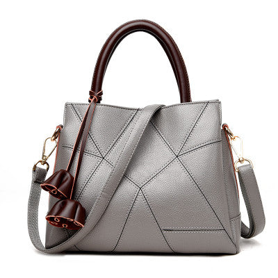 Brielle Leather Patterned Tote