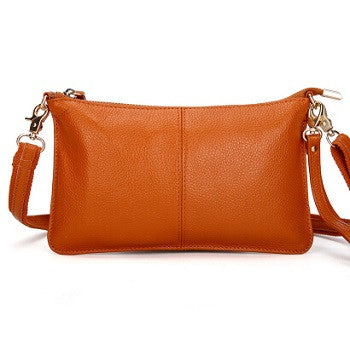 Leah Pebbled Leather Crossbody