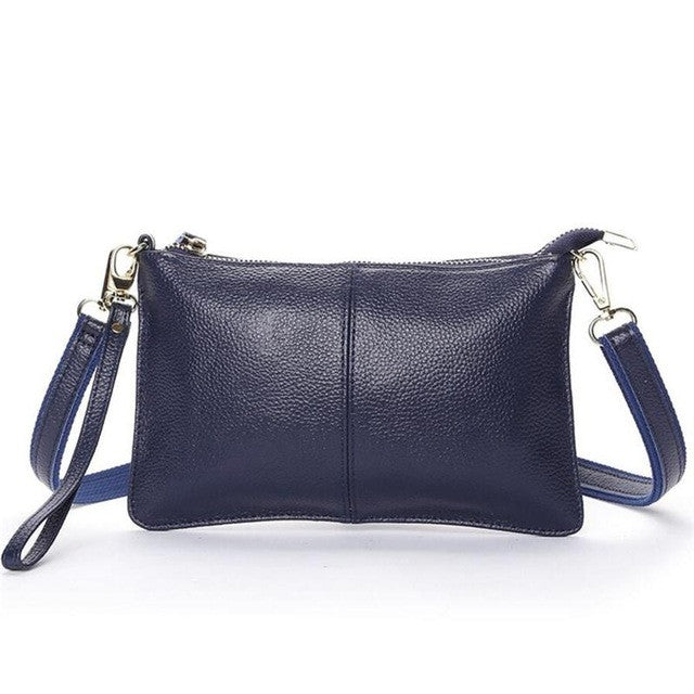 Aria Leather Wristlet