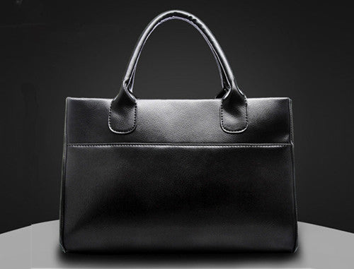 Callico Leather Tote