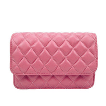 Hailey Quilted Leather Clutch