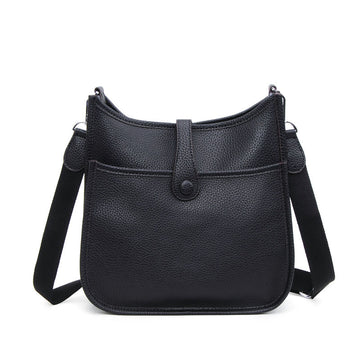 Suvi Pebbled Leather Crossbody