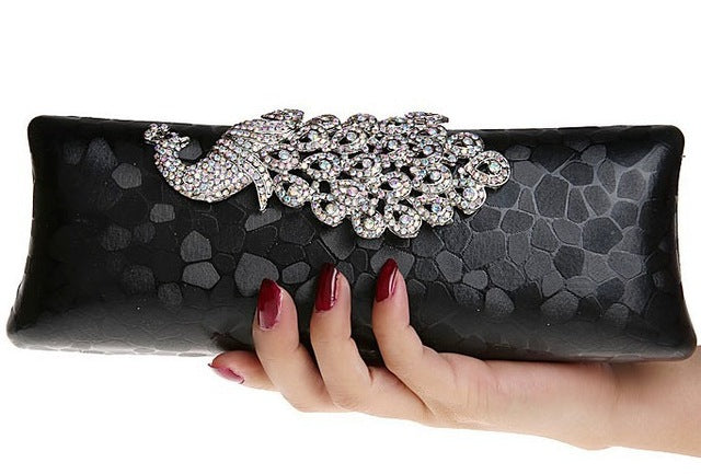 Peacock Evening Clutch