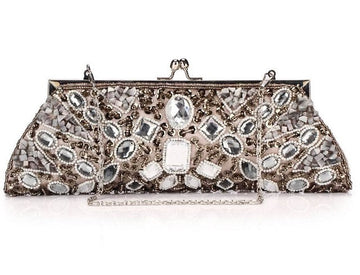 Acrylic Beads Evening Clutch