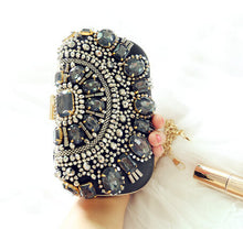 Retro Beaded Clutch
