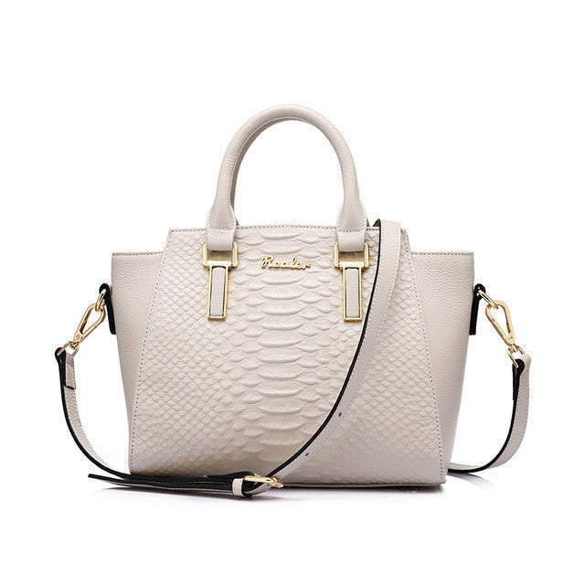 Realer  Luxury Genuine Leather Handbag