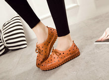 Lacy Casual Comfortable Leather Shoes