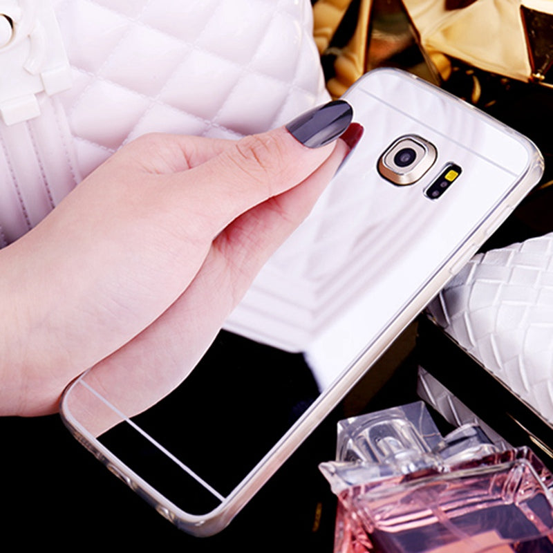 Kironly Soft Silicon Mirror Protector Cover Case