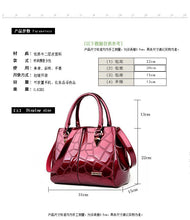 Everly Patent Leather Handbag