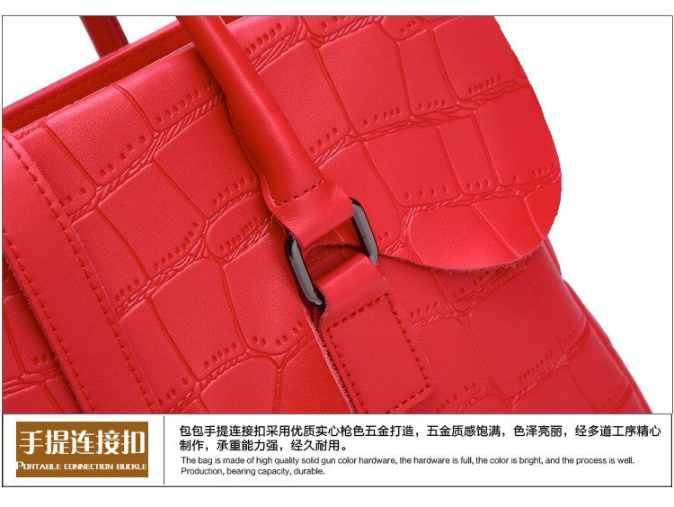 Febby Genuine Leather Handbag