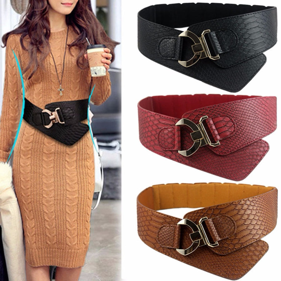 Rivet Wide Retro Belt