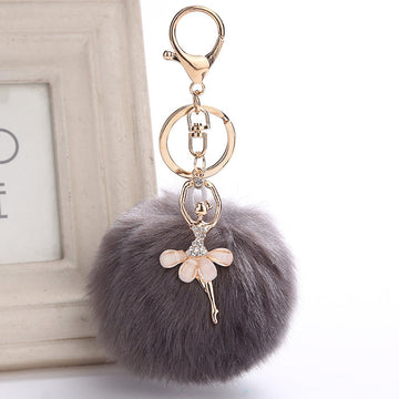 Fairy Crystal  Angel Pendant Keychain