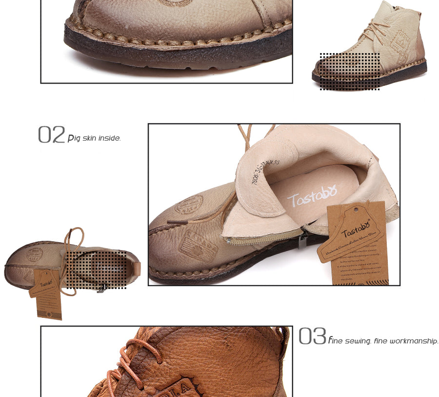 Obasta Genuine Leather Shoes