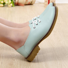 Latty Genuine Leather Casual Lace Up Shoes