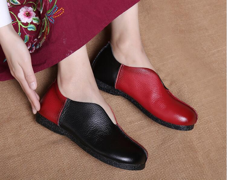 Rio Handmade Mixed Colors Genuine leather shoes