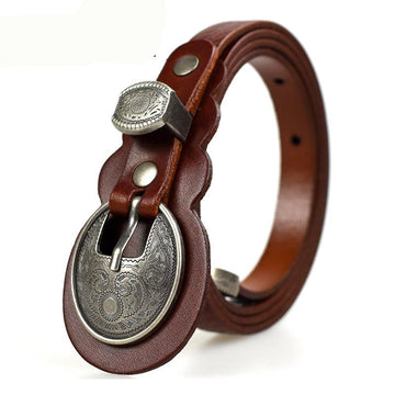 Sumei Genuine Leather Vintage Belt