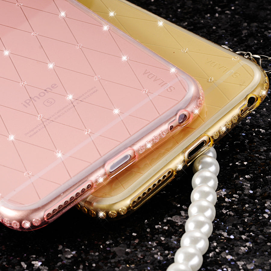 Lada Ultra Slim, Glitter, Transparent Soft Silicone Cover