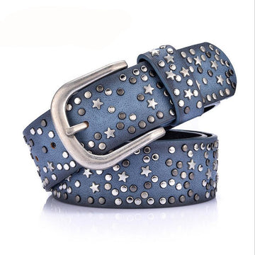 Sindy Star geometric rivet Belt