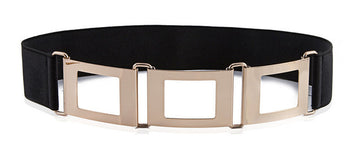 Cint Metal Elastic Wide Waist Belts