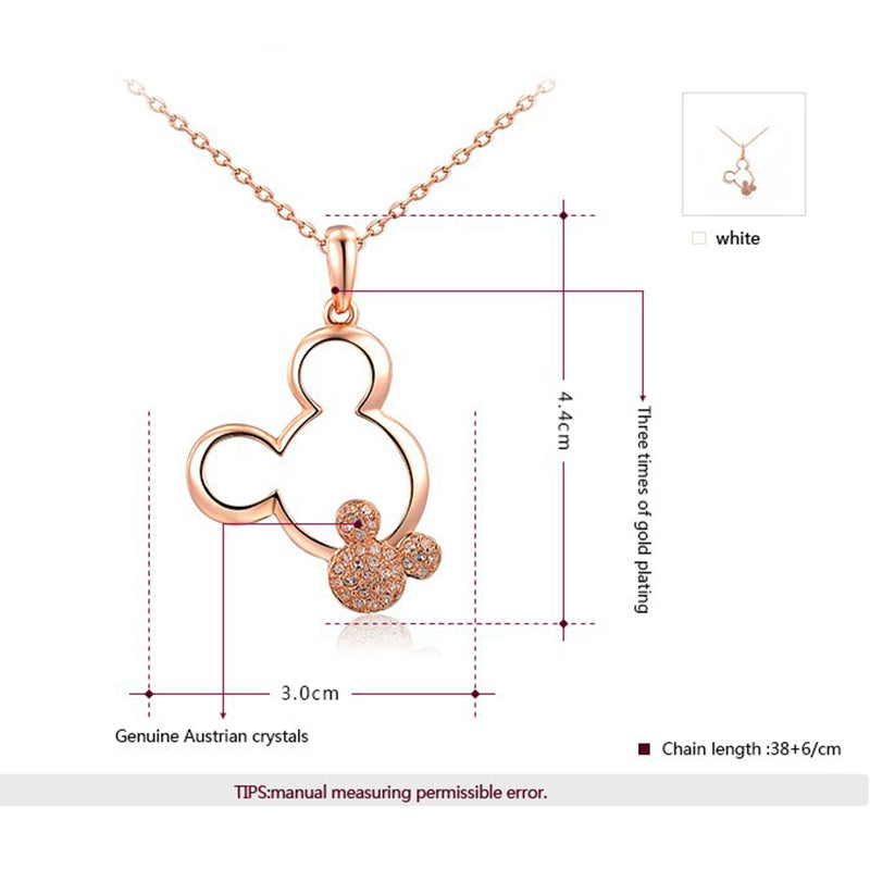 Cute Mickey Necklace